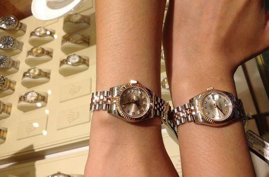 Differentiating Rolex Ladies' Watch Models
