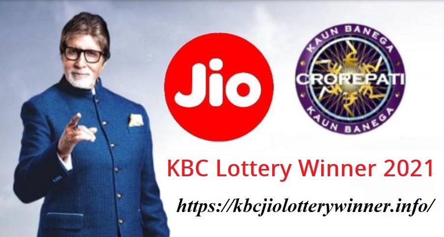 KBC Jio Lottery Winner 2021 List Today