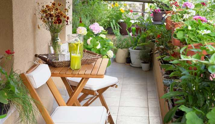 Top colours for your balcony