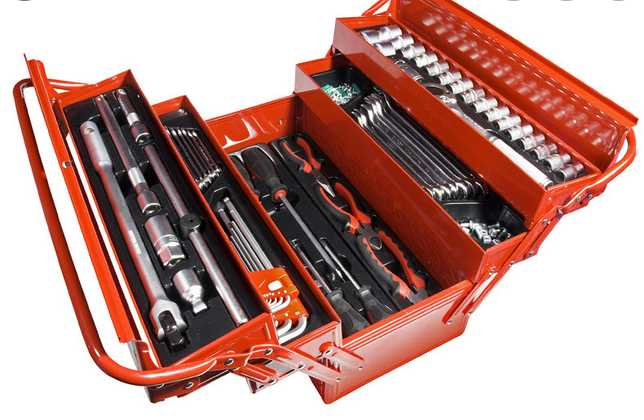 What are the different types of toolboxes